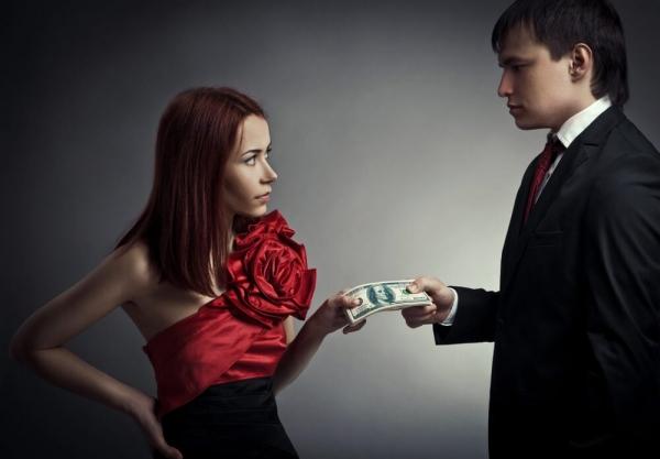 Сосать или отсасывать? Мужчина как источник денег