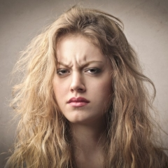Недовольная рожа - управление или ошибка?